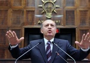 Турция закрыла свое воздушное пространство для Израиля