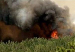 В Колорадо и Юте бушуют пожары