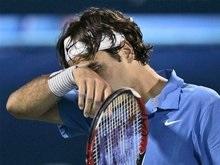 Теннис: Федерер сенсационно оступился в Дубаях