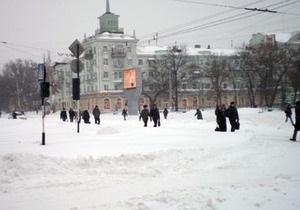 В Луганске объявлен режим чрезвычайной ситуации