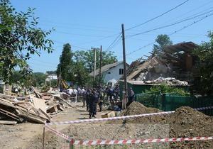 Взрыв в Ивано-Франковской области: девять человек госпитализированы
