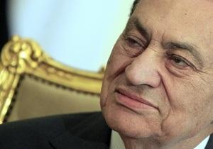 Хосни Мубарак взят под стражу