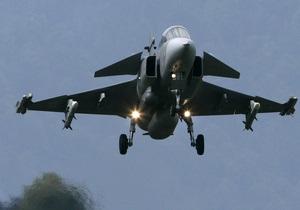 В Испании разбился военный истребитель