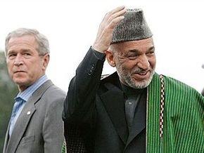 На выборах в Афганистане лидирует Хамид Карзай