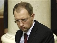 Яценюк назвал странным возможное блокирование трибуны Рады