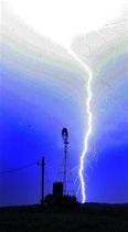 новости Николаевской области - удар молнии - гроза - В Николаевской области от удара молнии пострадали сразу четыре человека, из них двое детей