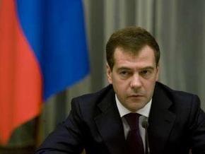 Медведев: Россия возобновит транзит газа после заключения договора с Украиной