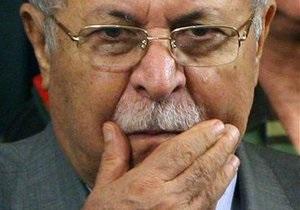 Президент Ирака Джаляль Талабани госпитализирован