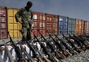 НГ: Украину обвиняют в поставках оружия Сирии