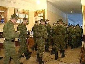 В Московской области с отравлением госпитализированы почти 130 солдат