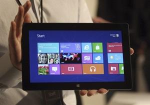 Продажи Windows 8 за первый месяц составили 40 млн копий