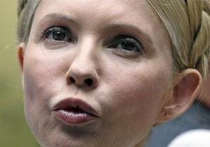 Тимошенко опять отказалась от обследования медиками Минздрава