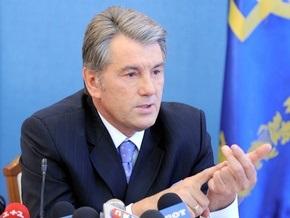 Ющенко: Вместе с нацией я не допущу выборов Президента в парламенте