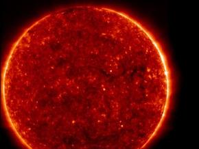 Российский спутник сфотографировал Солнце