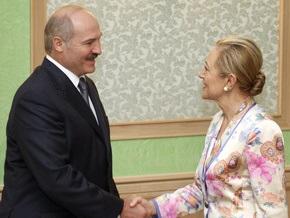 Бенита Ферреро-Вальднер назвала свой визит в Минск историческим
