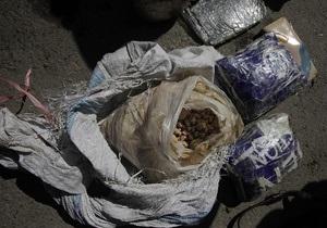 В Таджикистане у пограничника изъяли почти 400 кг афганских наркотиков