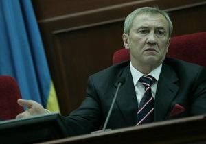 Черновецкий перенес первое пленарное заседание Киевсовета из-за инаугурации Януковича