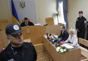 Суд снова отклонил ходатайство Тимошенко об отводе судьи Киреева