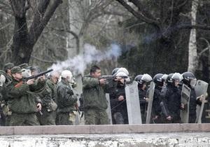 СМИ: Милиция Кыргызстана перешла на сторону оппозиции
