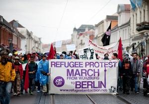 В Германии беженцы захватили посольство Нигерии