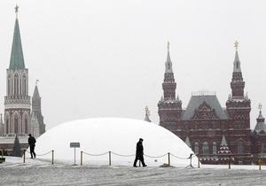 Мужчина поджег себя посреди Красной площади