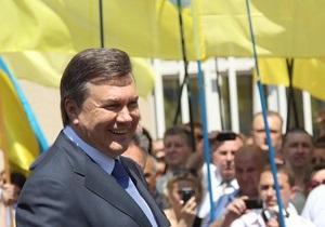 Янукович готовится провести итоговую пресс-конференцию