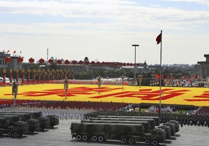 Китай увеличил военный бюджет