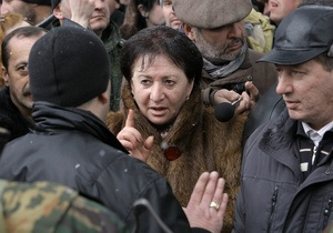 Лидер югоосетинской оппозиции поставила ультиматум Кокойты