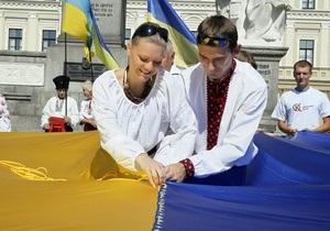 В День Независимости дожди в Украине пройдут лишь на востоке