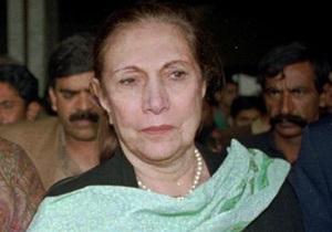 Умерла мать Беназир Бхутто
