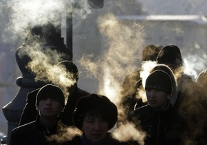 Завтра температура в Украине опустится до минус 22 градусов
