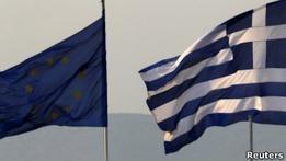 Германия хочет передать ЕС контроль за бюджетом Греции