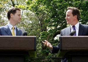 Британские либдемы проголосовали за коалицию с консерваторами