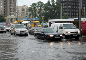 Потоп в Киеве: В мэрии заверили, что это  абсолютно нормальная ситуация