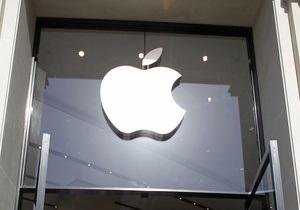 Акции Apple упали после достижения рекордно максимальной отметки