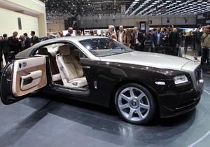 Женева-2013: Rolls-Royce представил самый быстрый автомобиль марки за всю историю