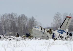 Украинцев не было на борту разбившегося под Тюменью самолета - предварительные данные