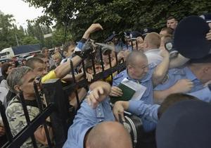 Ъ: По Украине распространяются нападения на милицию