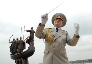 Фотогалерея:  И сестра их Лыбидь. Черновецкий открыл отреставрированный памятник основателям Киева