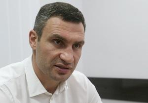 Интервью с Виталием Кличко