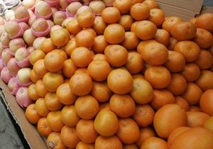 СМИ: Мандарины вытесняют апельсины с украинского рынка