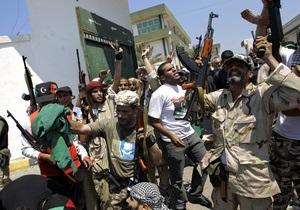 Новые власти Ливии объявили о захвате последнего оплота Каддафи