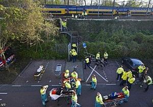В Амстердаме столкнулись два поезда