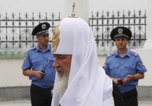 Визит патриарха Кирилла: харьковскую милицию перевели на усиленный режим работы