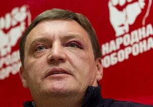 Драка после Шустер live: Стогний заявил, что Луценко выгораживают, а синяк Грымчака - нарисованный