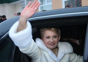 Тимошенко отложила рабочую поездку в Харьковскую область