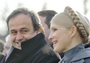 Дело Тимошенко: европейские политики написали открытое письмо президенту УЕФА