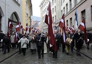 В Риге запретили марш памяти бывших легионеров СС