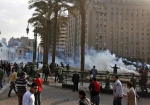 Один из раненых в Каире демонстрантов скончался