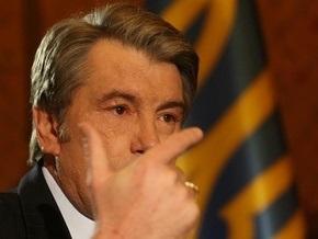 Ющенко назвал три варианта выхода из парламентского кризиса
